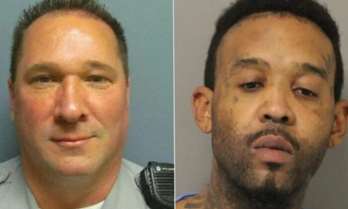 Keith Heacook and Randon Wilkerson, (Delaware State Police)