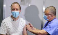 UK Health Secretary Gets AstraZeneca COVID-19 Vaccine