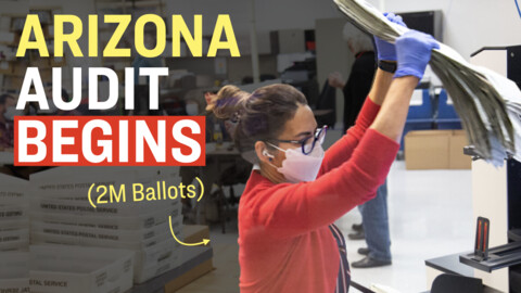 Video: Facts Matter (April 26): Maricopa County Audit of 2.1 Million Ballots Begins; Real-Time Camera Footage