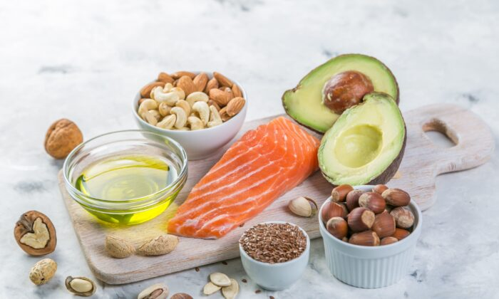 Many foods contain high- calorie, nutritious fats that can provide much of your daily energy needs.(Oleksandra Naumenko/Shutterstock)