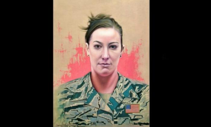 Ashli Babbitt portrait (YouTube Screenshot via The Epoch Times)
