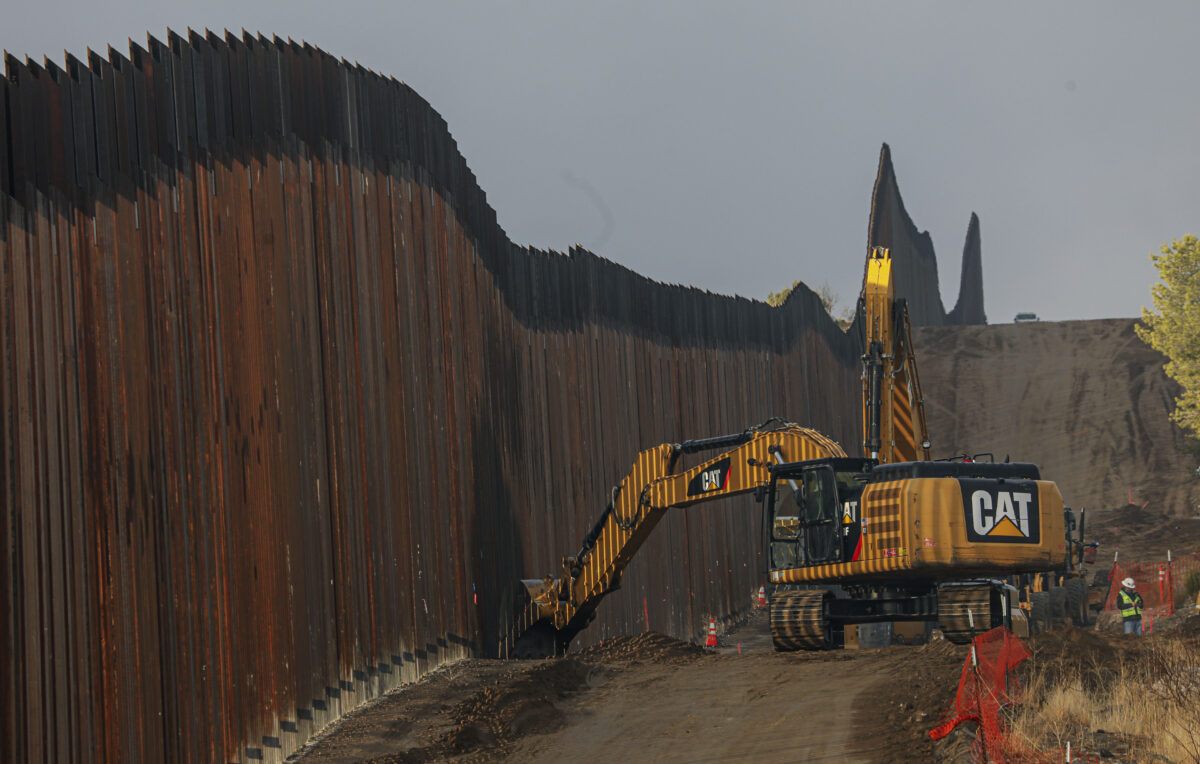 Biden Administration Cancels Military-Funded Border Wall Projects