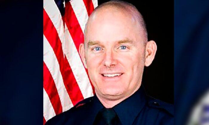 Officer Christopher Farrar. (Chandler Police Department via AP)