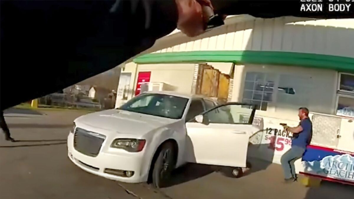 Suspect Fatally Shot by Police as He Dragged Illinois Officers at Gas Station: Video