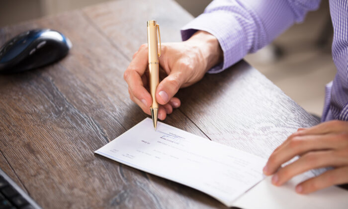 Wait for the SSA to send you a letter asking for the funds to be repaid, so that they will be expecting the check. (Andrey_Popov/Shutterstock)