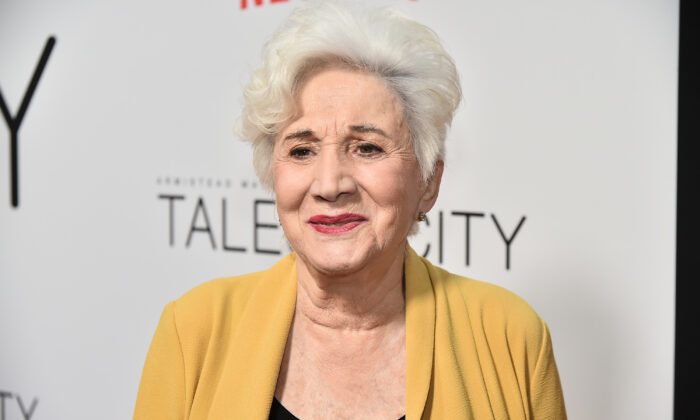 "Olympia Dukakis attends ""Tales Of The City"" New York Premiere at The Metrograph in New York City on June 3, 2019. (Theo Wargo/Getty Images)"