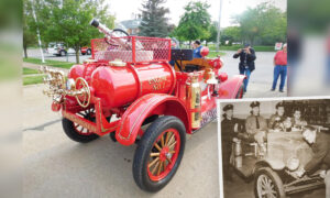 100-Year-Old Fire Engine in Rough Shape Gets Revamped for Ohio Fire Department