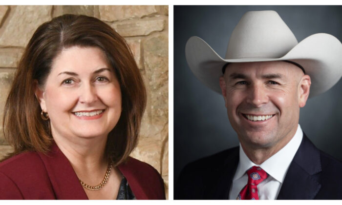 Susan Wright (L) and Jake Ellzey (R). (Susan Wright for Congress and Jake Ellzey for Congress)