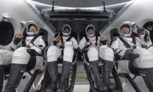 LIVE: NASA's SpaceX Crew-1 Astronauts Speak About Successful Mission