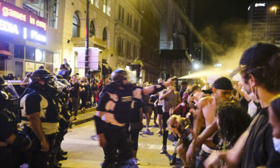 Federal Judge Bars Columbus Police from Using Pepper Spray, Rubber Bullets Against Nonviolent Protesters