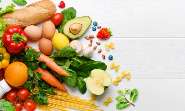 Healthy foods support a healthy microbial community in our gut. (Rimma Bondarenko/Shutterstock)