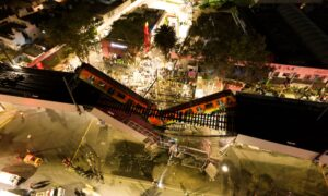 Mexico Promises Justice After Metro Train Line Collapse Kills 24