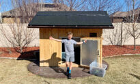 'This Was a Success': 10-Year-Old Boy Sleeps Outside for 100 Nights in a Wooden Cabin
