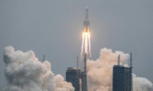 US Tracking Uncontrolled China Rocket Debris, Predicted to Reenter Atmosphere in Days