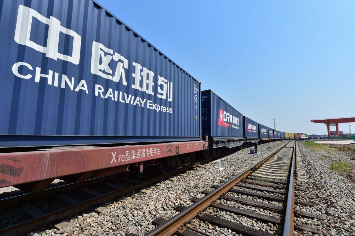 China Funds Trans-Eurasia Trains in a Bid to Decouple From US