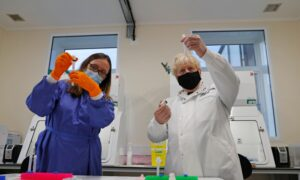 UK Invests More in Testing Facilities to Tackle CCP Virus Variants