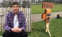 College Student's Genius 'Eyesore' Bin-Bag Dispenser Helps Keep Parks Litter-Free