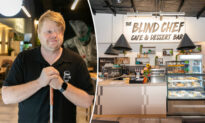 Blind Chef Opens Cafe After Losing His Vision to Cancer and Being Forced to Quit His Job