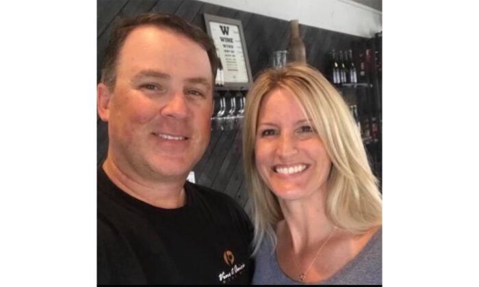 Kurt and Dawn Hixenbaugh, owners of Vino et Amicis wine bar in Orcutt, Calif. (Courtesy of Kurt Hixenbaugh)