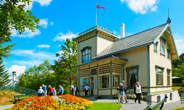 Composer Edvard Grieg based his music on the sounds of his nature country, Norway. His Troldhaugen House, now a living museum, in Bergen, Norway. (Evikka/Shutterstock)
