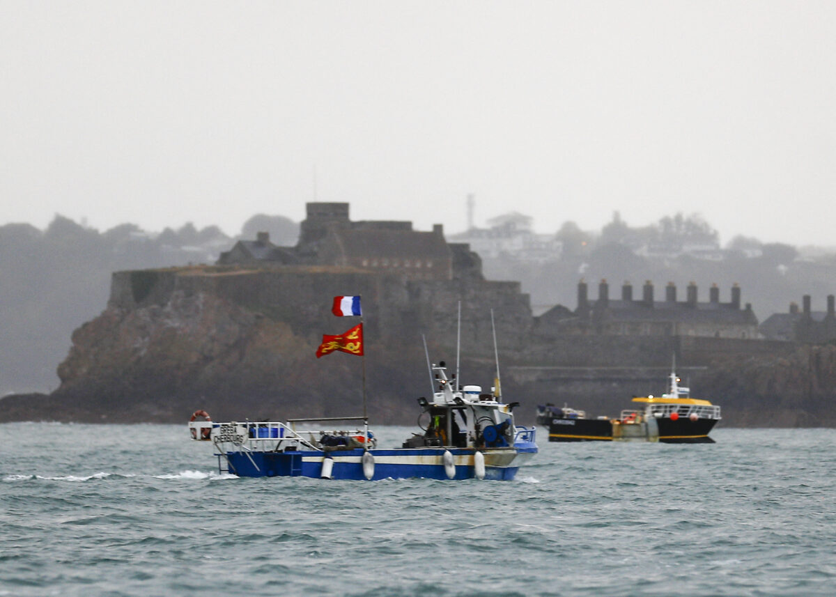 France UK Jersey fishing