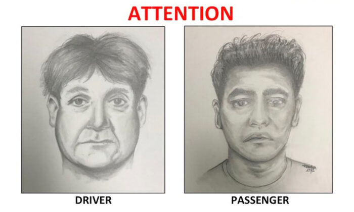 TheOrange County Sheriff's Department released these sketches with hopes of identifying two men suspected of following a teen girl in Rancho Santa Margarita. (Courtesy of the Orange County Sheriff's Department)