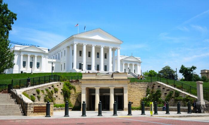 The Virginia State Capitol. (Zack Frank/Shutterstock)