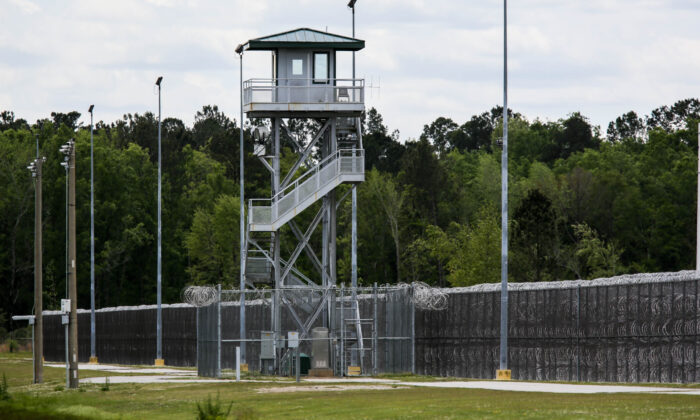 The Lee Correctional Institution in Bishopville, S.C., on April 16, 2018. (Logan Cyrus/AFP via Getty Images)