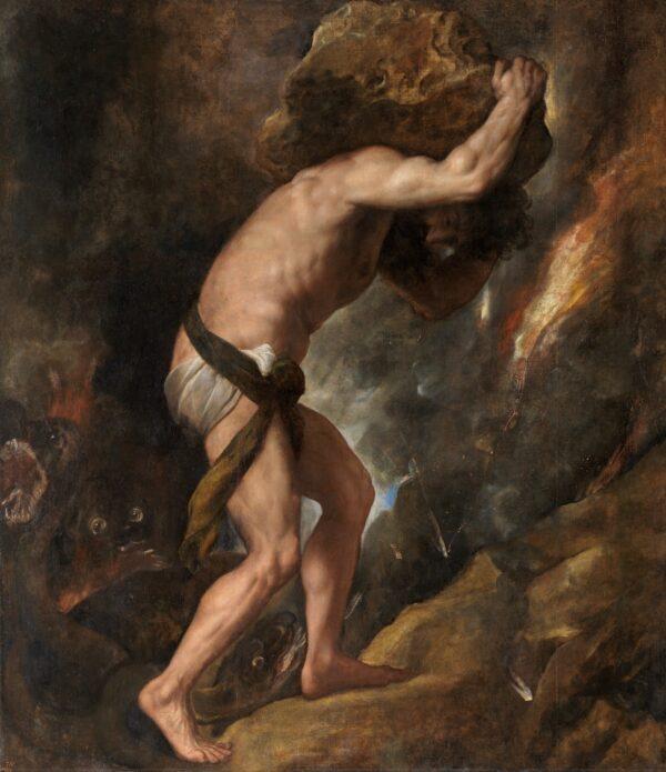 Titian_-_Sisyphus_-_Madrid_-_Prado