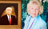 Great-Grandma Artist, 88 Years Old, Paints Portrait of Donald J Trump—Says 'I Am a Patriot'