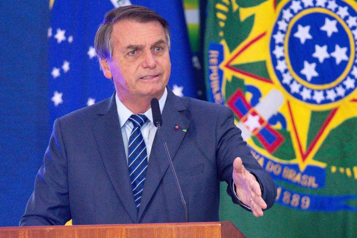 Brazil's President Suggests CCP Virus Created to Wage 'Biological Warfare'