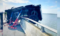 Toddler Thrown From Truck Into Bay in Crash—Then Heroic Bystander Leaps In, Saves Her Life