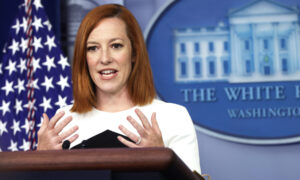 White House Press Secretary Says Team Tells Biden Not to Answer Questions From Reporters