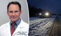 Heroic Doctor Drives Hours Through Snowstorm to Save High-Risk Newborn Baby's Life