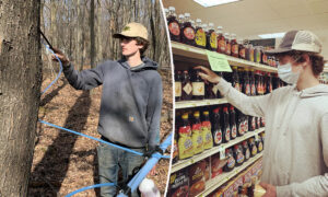 Teen, 16, Goes Into Tree-Tapping Business, Gets Own Brand of Maple Syrup in 100 Stores