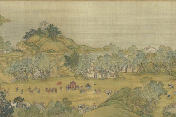 Qing version of qingming