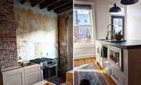 Woman Renovates 117-Year-Old Baltimore Rowhome Kitchen—and the Transformation Is Stunning