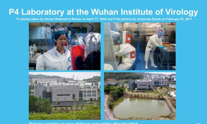 AFP presents a photo essay of 20 pictures by photographers Hector Retamal taken on April 17, 2020 and by Johannes Eiseles taken on Feb. 23, 2017 of the P4 laboratory at the Wuhan Institute of Virology in Wuhan in China's central Hubei province. (Hector Retamal and Johannes Eisele/AFP via Getty Images)