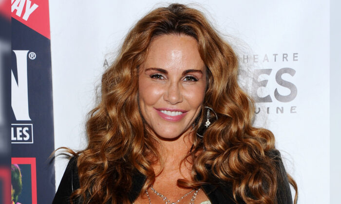 Actress Tawny Kitaen arrives at the opening night of 'Rain- A Tribute To The Beatles' at the Pantages Theatre in Hollywood, Calif., on April 12, 2011. (Angela Weiss/Getty Images for Pantages Theatre)