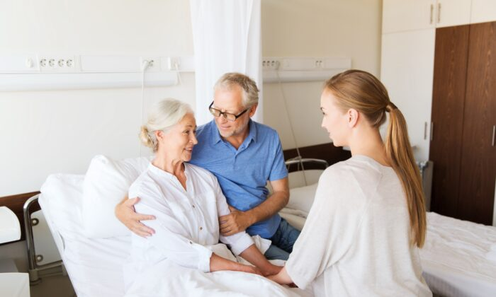 Being proactive about end-of-life discussions can make the difference between emotional upheaval and peace between loved ones when a health crisis arrives. (Syda Productions/Shutterstock)