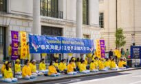 UK Falun Gong Practitioners Celebrate World Falun Dafa Day