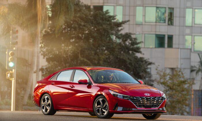 2021 Hyundai Elantra. (Courtesy of Hyundai)