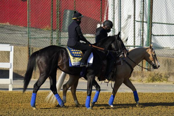 Kentucky Derby winner Medina Spirit