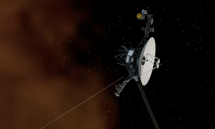 This undated artist's concept depicts NASA's Voyager 1 spacecraft entering interstellar space, or the space between stars. (NASA/JPL-Caltech/Handout/Reuters)