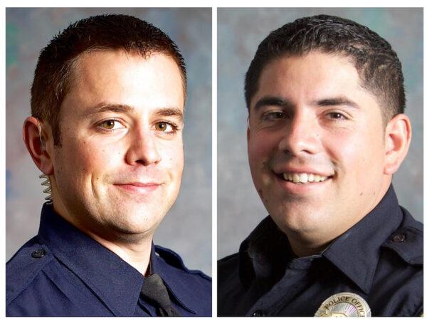 Officers Shot California