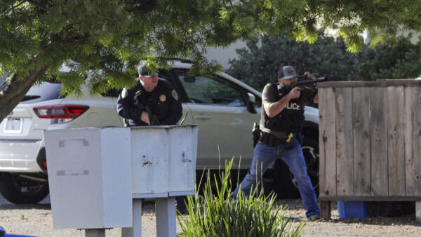 Officers Shot in Califnia