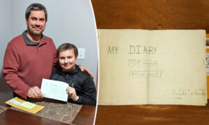Former Student Reunites With a Diary From His 6th Grade After 33 Years