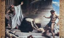The True Victory of Holy Devotion: 'The Martyrdom of St. Denis'