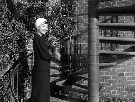 Hepburn in Sabrina