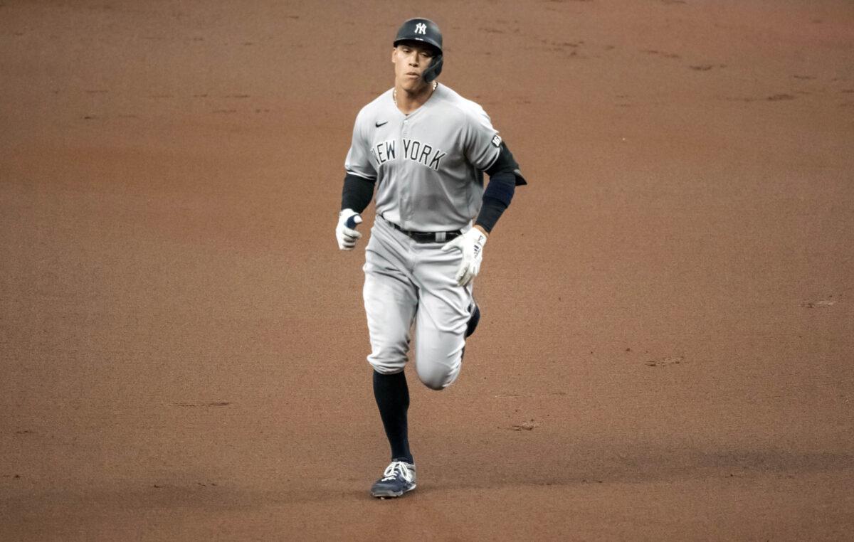 New York Yankees' Aaron Judge